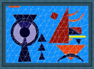 Mosaïque essai d'après Kandinsky