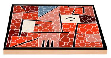 Essai Mosaïque d'aprés un tableau de Paul Klee