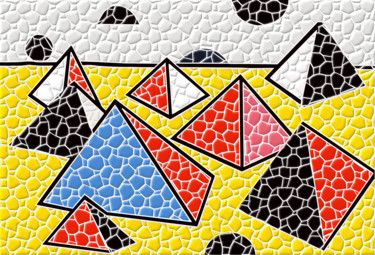 Pyramides - Essai d'après un tableau de Calder